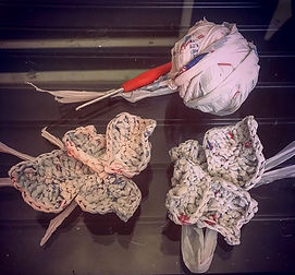 Miriam Robinson - crochet plarn hydrange