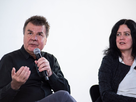 Günther Vogt and Marcelyn Gow