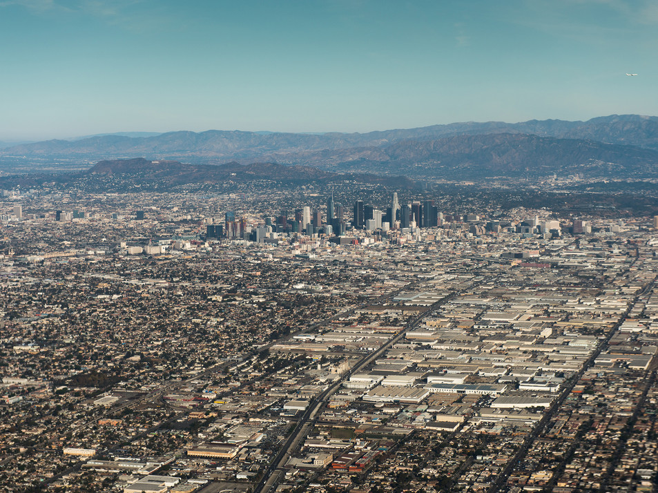 Los Angeles aerial view. Hayk Shalunts © Shutterstock Photo.