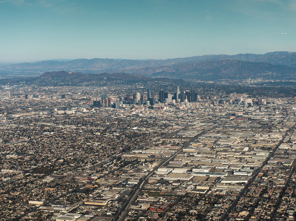 Los Angeles aerial view. Hayk Shalunts © Shutterstock Photo.
