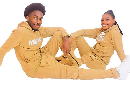 Caramel Stacked Sweatsuits