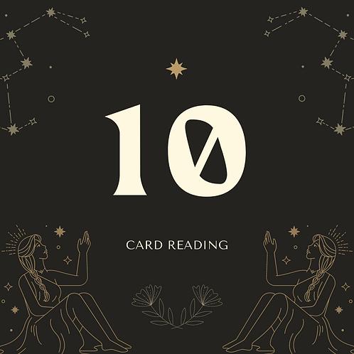 10-card reading
