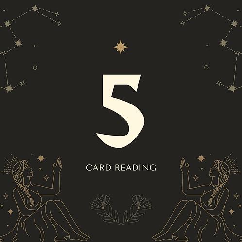 5-card reading