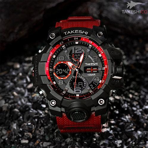 TakeshiCo TK26BR Sport Water Resistant Watch