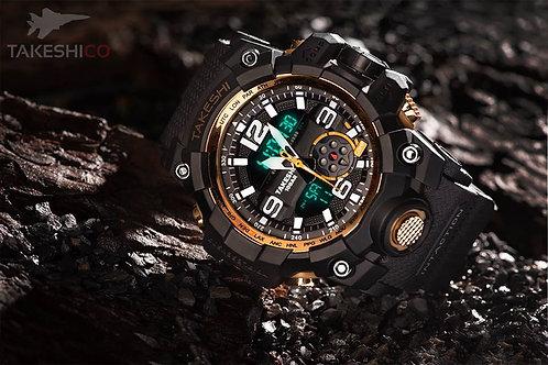 TakeshiCo TK25GG Sport Water Resistant Watch