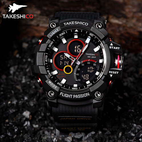 TakeshiCo TK29BL Sport Water Resistant Watch