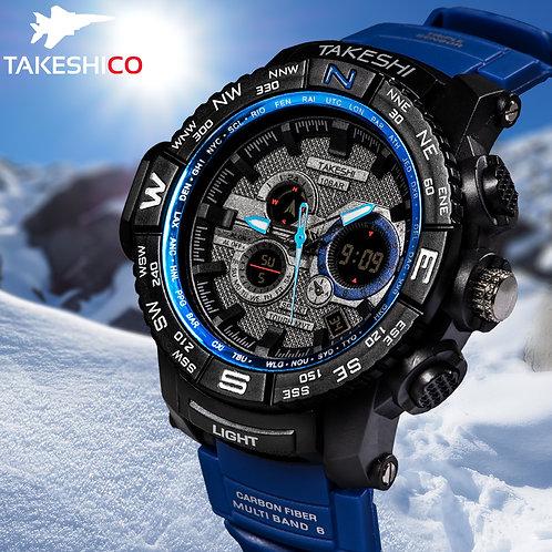 TakeshiCo TK24BU Sport Water Resistant Watch