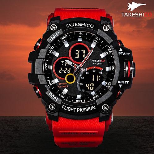 TakeshiCo TK29RR Sport Water Resistant Watch