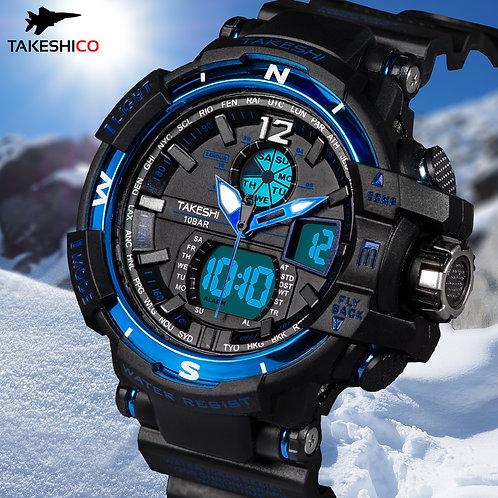 TakeshiCo TK28BU Sport Water Resistant Watch
