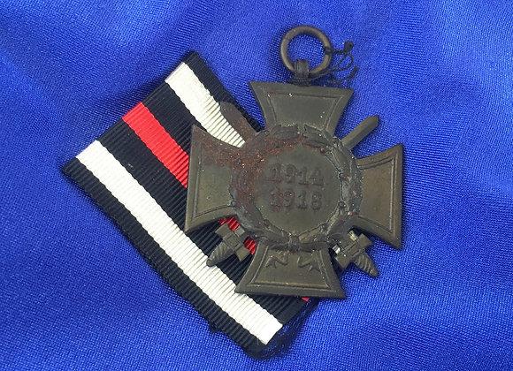 German Honour Cross for World War 1 1914/1918