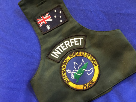 Militaria Australia from recent deployments and conflicts