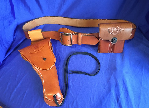 US Colt .45 1911 Holster rig size 44