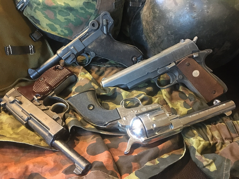 A range of high quality replica pistols from across the years of manufacture ranging from CMC and Kokusai to Denix.