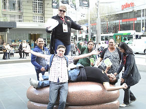 team building with an Amazing Race in Melbourne