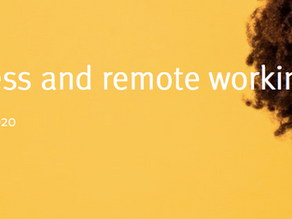 Self-awareness and remote working