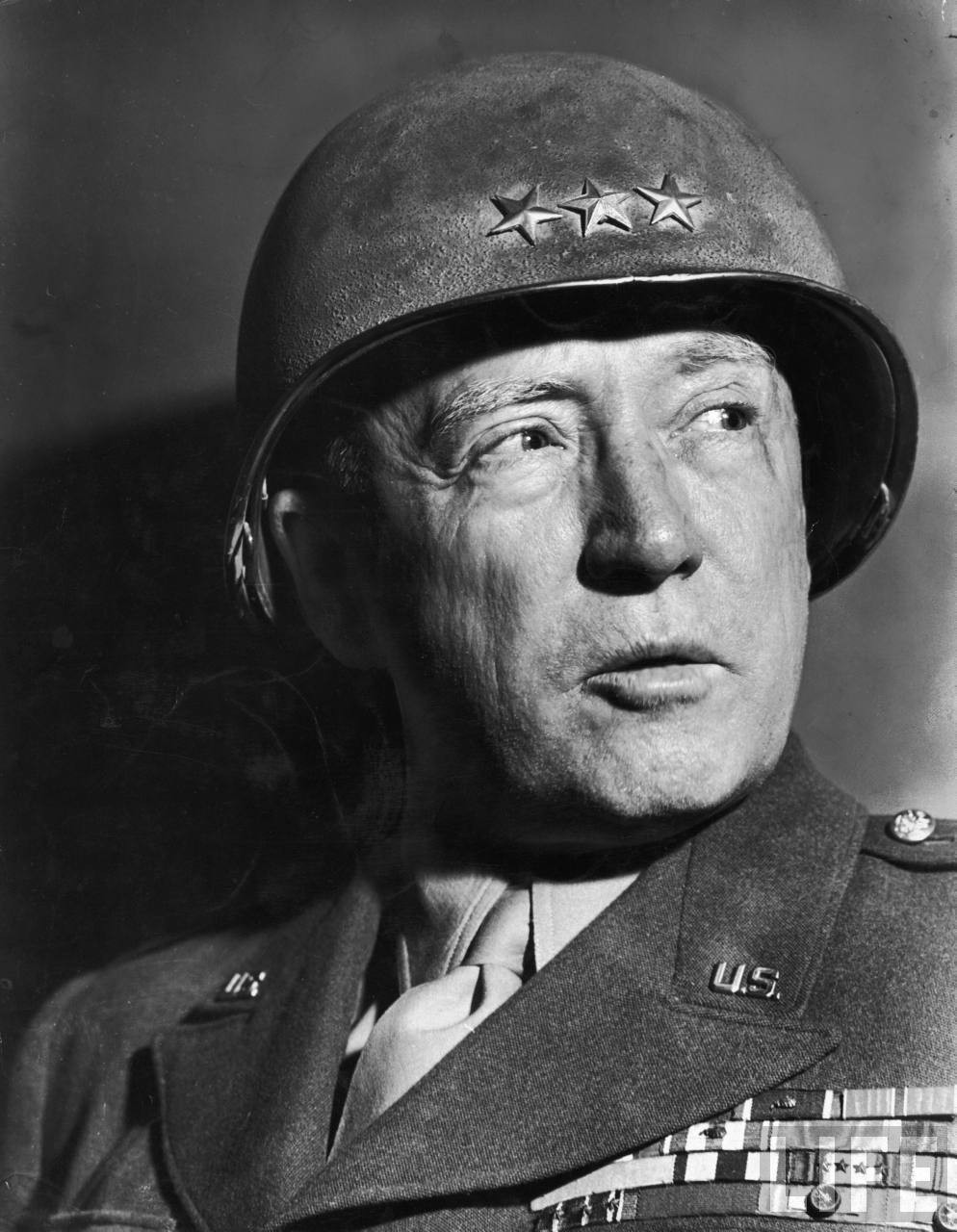 General George S Patton a famous figure from US Military History