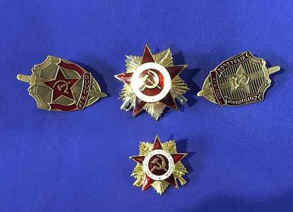 Soviet Award Badges - good reproductions