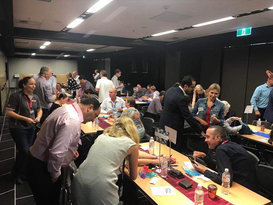 Team building in Sydney with business games by Sabre