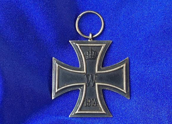 WW1 German Iron Cross 2nd Class (Original)