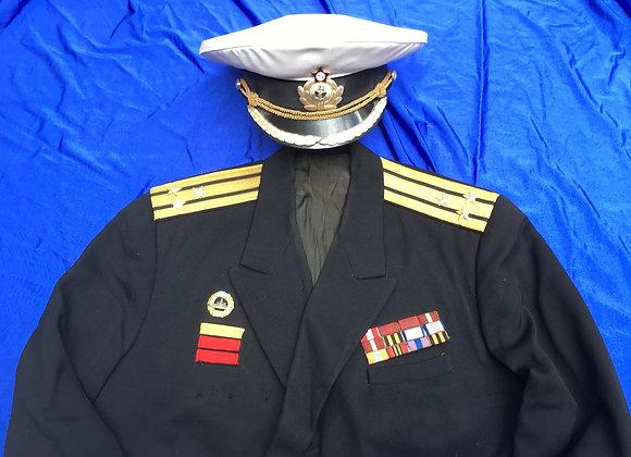 Soviet Naval Captain Uniform