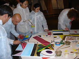 Painting Team Building Themes by Sabre