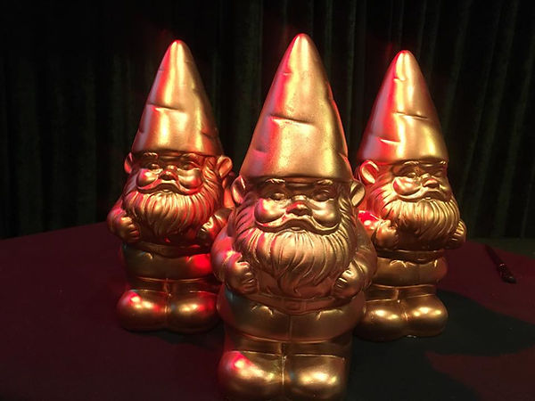 Team Building excellence in film making rewarded with Golden Gnomes by Sabre