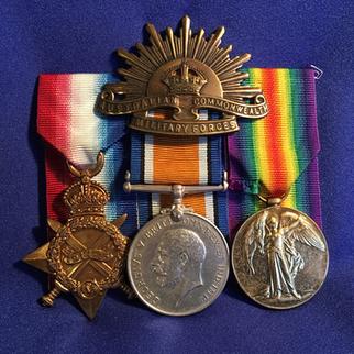 Australia Light Horse Medal Group