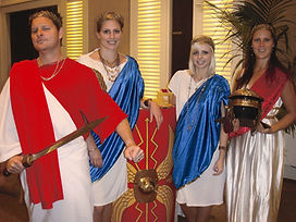 The indoor business game When in Rome by Sabre is a great team building experience
