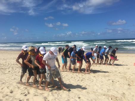 A Beach Olympics for Chubb on the sunny QLD Gold Coast