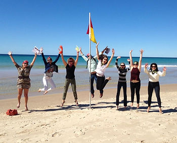 Team building activities Gold Coast such as beach Olympics or an Amazing Race