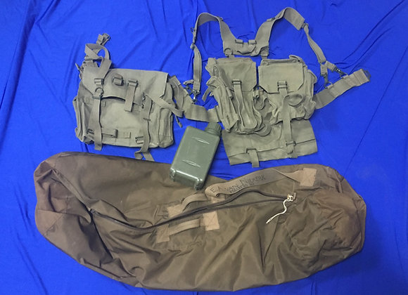 South African M70 Webbing, Duffle and Kit Bag