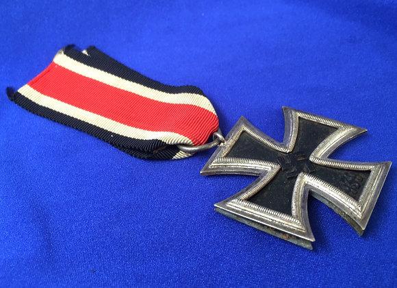 WW2 EK marked 65 Klein & Quenzer split frame (original)