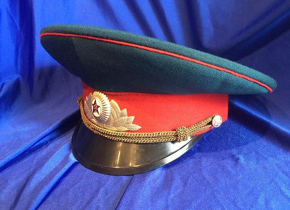 Soviet Army Parade visor cap Cold War era