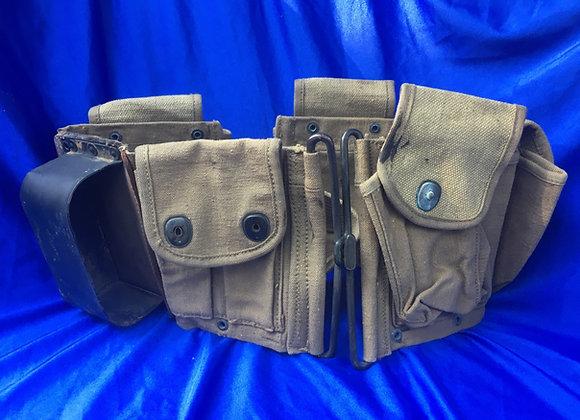 WW2 US BAR Ammo belt with butt stock recess