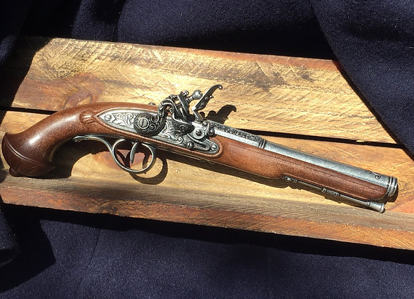 18th Century Elegant Flintlock Pistol