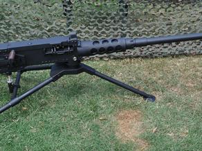 Browning M2HB .50 Cal Machine Gun Metal Non-Firing Replica