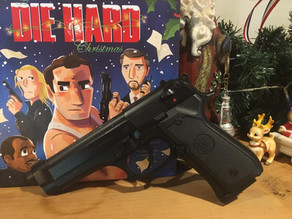 Die Hard IS a Christmas Movie  (and it features the Beretta 92 F Pistol)
