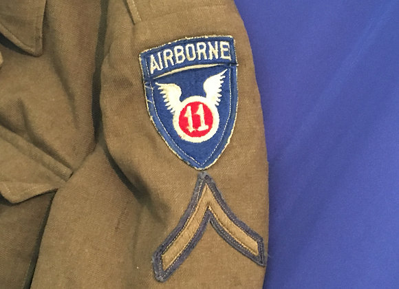 WW2 US 11th Airborne Ike Jacket size 40R