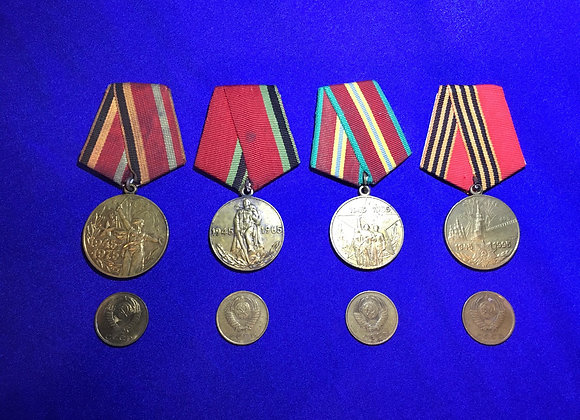 Soviet / USSR Medals and Coins