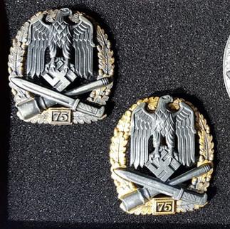 Rare WW2 German Infantry and Panzer Assault Badges