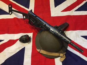 WW2 British Sten MK2  Submachine Gun Replica by Denix