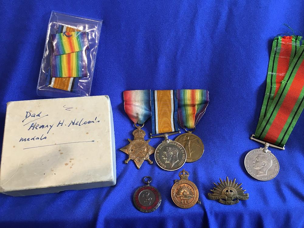 WW1 AIF Medals