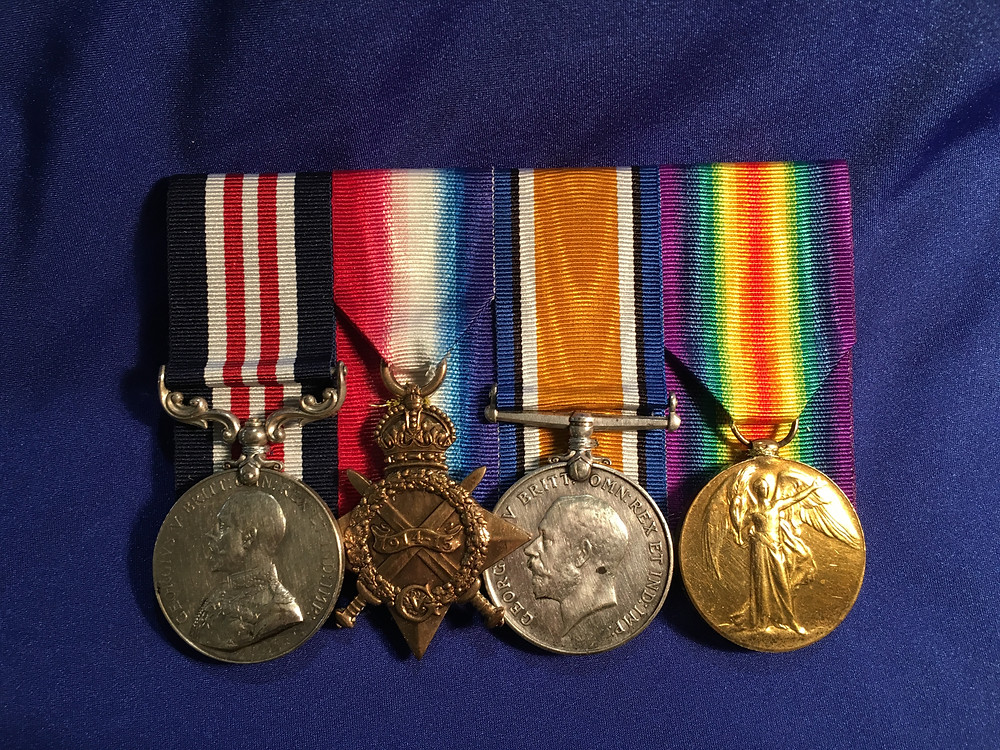 WW1 AIF Military Medal Group