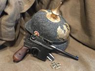Replica Mauser Broom Handle Pistol