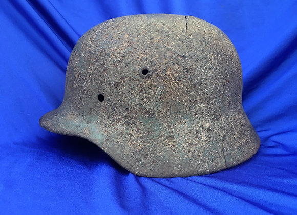 WW2 German Army / Heer Stalhelm in relic condition