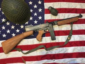 WW2 US Thompson Submachine Gun Replica by Denix