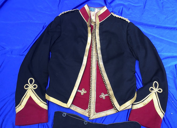 Mess Dress Uniform of the Umvoti Mounted Rifles South Africa
