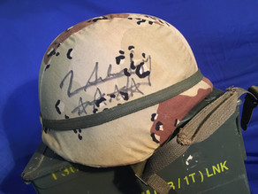 Stormin' Norman Signed Helmet