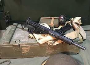 Replica Submachine Gun Spotlight: The Sten Gun by Denix.