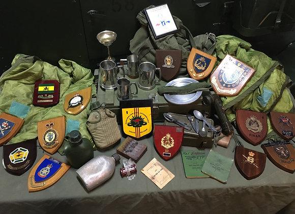 Australian Army Vietnam War Group 2LT - Major